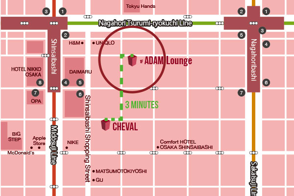 ADAM Lounge Map